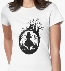 Silhouette - Alice In Wonderland T-Shirt