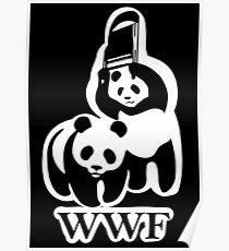 WWF panda parody Poster