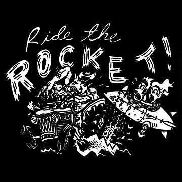 Ride The Rocket by 43creativeart