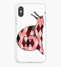 Red Snail iPhone Case/Skin