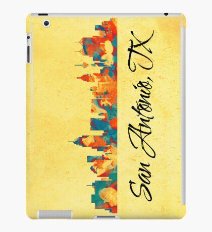 San Antonio Texas Skyline iPad Case/Skin