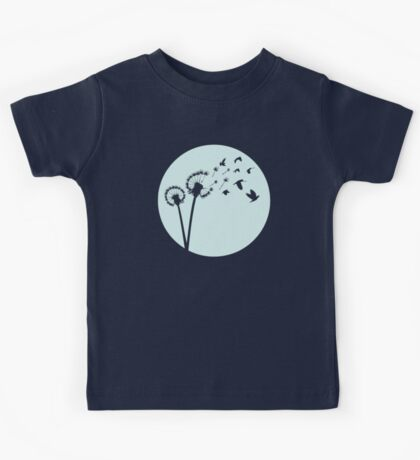 Dandelion Bird Flight Kids Clothes