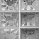Polystyrene Cybie Cat Box. by Andy Nawroski