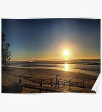 Beachset Sunview Poster