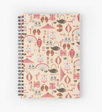 Japan Elements Spiral Notebook