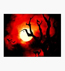 Dream of Halloween Photographic Print