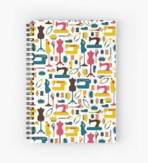 Sewing Accessories Spiral Notebook