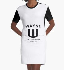 WAYNE ENTERPRISES [HD] Graphic T-Shirt Dress
