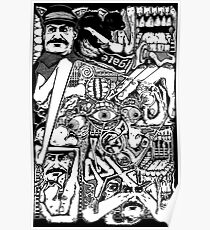 Cat Stalin Poster