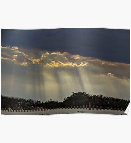 When Light Split The Sky Poster