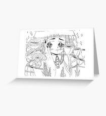 Shining Greeting Card
