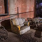 Abandoned Couch by Gavin Kerslake