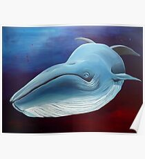Little Whale Poster