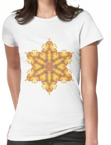 Buddhist Star Womens Fitted T-Shirt