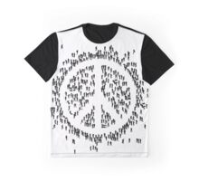 all we are saying.... is give peace a chance.... Graphic T-Shirt