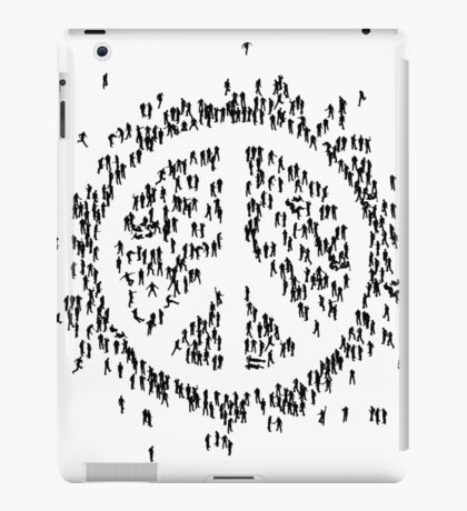 all we are saying.... is give peace a chance.... iPad Case/Skin