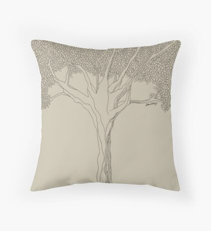 Dreaming Tree - DMB  Throw Pillow