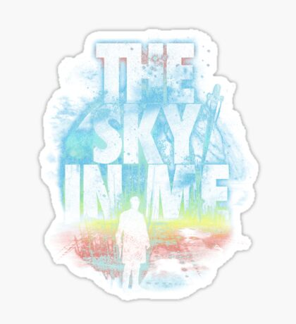 the sky in me Sticker