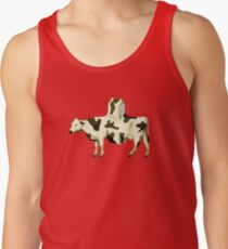 SURREALISM - Cow Product  Tank Top