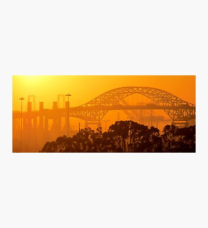 Steel Sunset Photographic Print