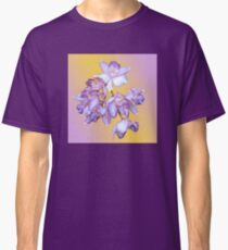 ORCHID ORCHID WITH BACKGROUND Classic T-Shirt
