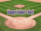 Happy Father's Day Baseball by FrankieCat