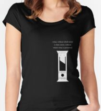 Terror and Virtue Women's Fitted Scoop T-Shirt