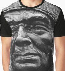 Clinton Rickard Statue | Niagara Falls, New York Graphic T-Shirt