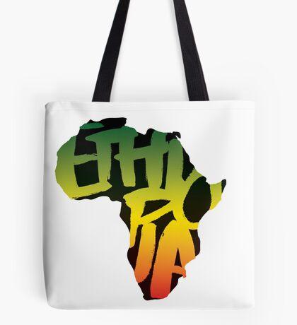 Ethiopia in Africa - Black Tote Bag