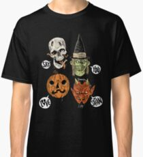 Say You Love Satan 80s Horror Podcast Logo 2 Classic T-Shirt