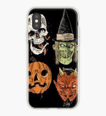 Say You Love Satan 80s Horror Podcast Logo 2 iPhone Case