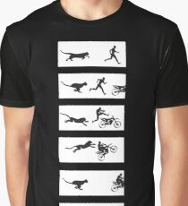 Cheetah Run Graphic T-Shirt