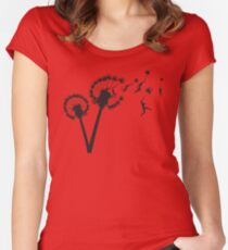 Dandylion People Flight Women's Fitted Scoop T-Shirt