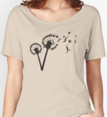 Dandylion Flight Women's Relaxed Fit T-Shirt