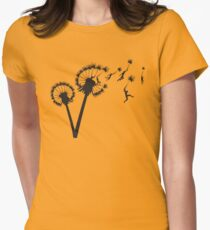 Dandylion Flight Women's Fitted T-Shirt