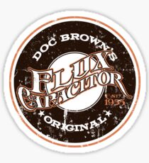 Doc Brown's Flux Capacitor Sticker