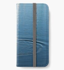 Ripples and Circles – Red-Necked Grebe iPhone Wallet/Case/Skin