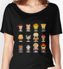 Street fighter - the world warrior Women's Relaxed Fit T-Shirt