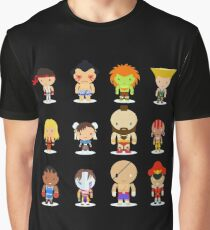 Street fighter - the world warrior Graphic T-Shirt