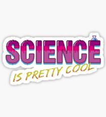 Science is Pretty Cool Sticker