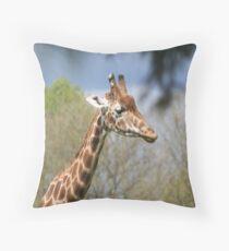 Giraffe Design Throw Pillow