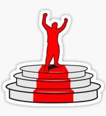 success victory Sticker