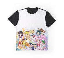 Sailor Moon Group Graphic T-Shirt
