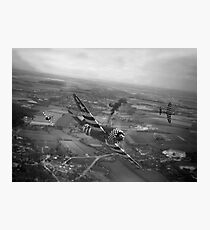 P47 Thunderbolt - D-Day Train Busters Photographic Print