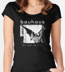 Bauhaus - Bat Wings - Bela Lugosi's Dead Women's Fitted Scoop T-Shirt