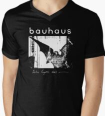 Bauhaus - Bat Wings - Bela Lugosi's Dead Men's V-Neck T-Shirt