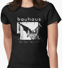 Bauhaus - Bat Wings - Bela Lugosi's Dead Women's Fitted T-Shirt