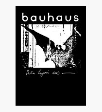 Bauhaus - Bat Wings - Bela Lugosi's Dead Photographic Print