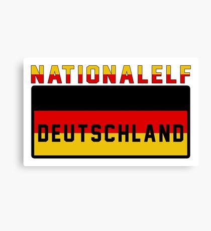 Germany EURO 2016 France Canvas Print