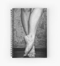 Latin dancer's feet Spiral Notebook